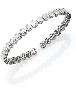 Palu Sterling Silver Slim Flex Cuff Bracelet