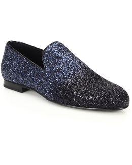 Gradient Glitter Slippers