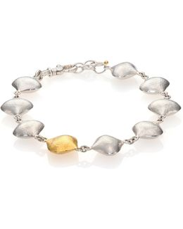 Cielo 24k Yellow Gold & Sterling Silver All-around Bracelet