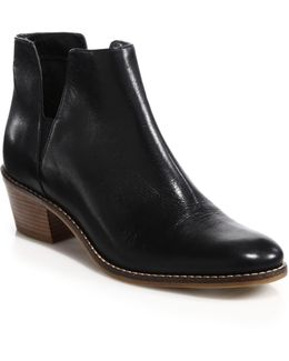 Abbot Leather Booties