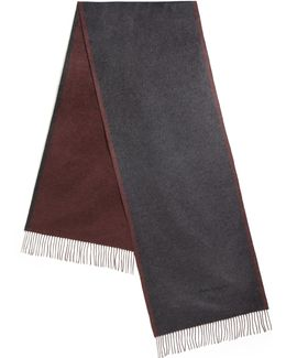 Two-tone Silk Scarf