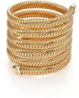 Primavera Diamond & 18k Yellow Gold Six-row Wrap Bracelet