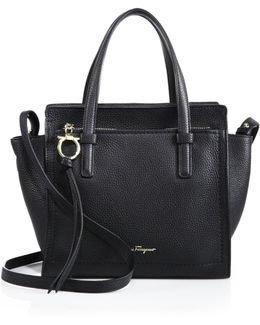 Amy Mini Pebbled Leather Tote