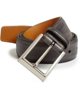Saks Fifth Avenue By Magnanni Leather Belt