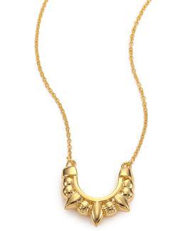 Mini Spike Pendant Necklace