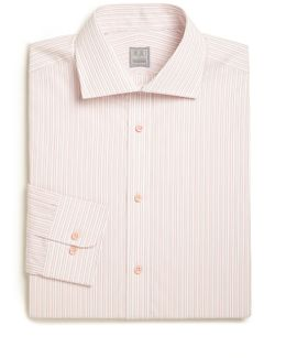 Regular-fit Striped Cotton Dress Shirt