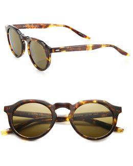 Ascot 49mm Round Sunglasses