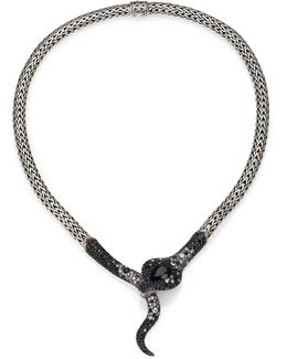 Legends Cobra Semi-precious Multi-stone, Diamond & Sterling Silver Necklace