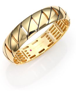 Appassionata 18k Yellow Gold Bangle Bracelet