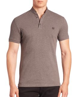 Sport Tipped Solid Polo