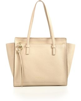 Amy Medium Convertible Leather Tote