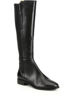 Rockland Leather Knee Boot