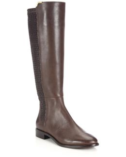 Rockland Leather Knee-high Boots