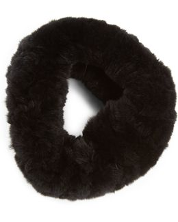 Rabbit Fur Convertible Headband
