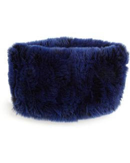 Rabbit Fur Headband/collar