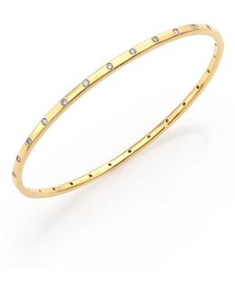 Glamazon Stardust Diamond & 18k Yellow Gold Bangle Bracelet