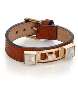 Ps11 Small Linosa Leather Bracelet