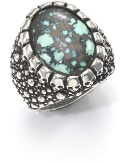 Stingray Turquoise & Sterling Silver Ring