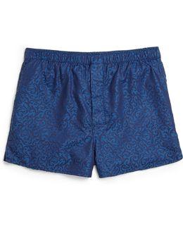 Cotton Jacquard Boxer Shorts