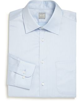 Regular-fit Solid Dress Shirt