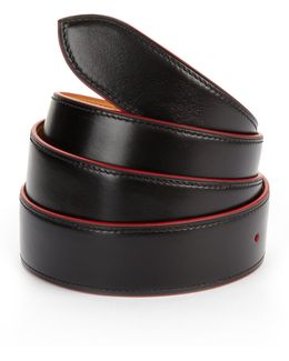 French Leather Belt