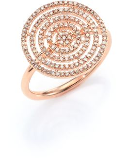 Icon Aura Grey Diamond & 14k Rose Gold Ring