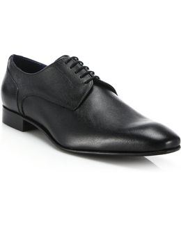 Saffiano Lace-up Brogues