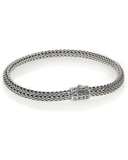 Classic Chain Sterling Silver Extra-small Bracelet