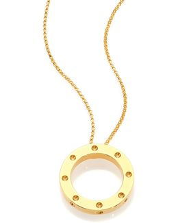 Pois Moi 18k Yellow Gold Pendant Necklace