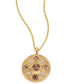 Talisman Core Diamond & 18k Yellow Gold Pendant Necklace