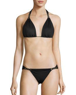 Maia Triangle Bikini Top