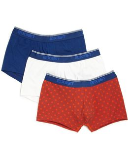 Three-piece No-show Trunks