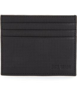 Varick Leather Card Case