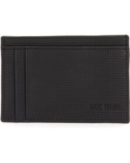 Varick Leather Id Card Case
