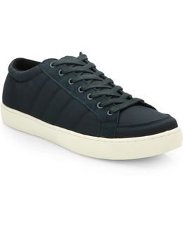 Saks Fifth Avenue By Ecoalf Quilted Low-top Sneakers