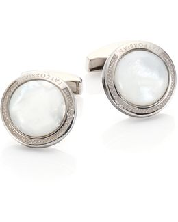 Mother-of-pearl Cuff Links