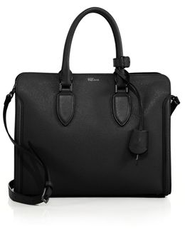 Heroine Large Leather Open Tote