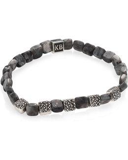 Labradorite & Sterling Silver Bracelet