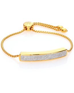 Baja 18k Gold-plated & Diamond Bracelet