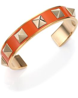 Rockstud Lacquered Cuff Bracelet