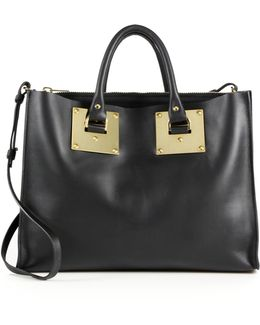 Albion Leather East-west Tote