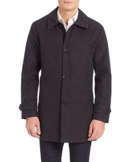 Rubberized Hooded Seam Sealed Jacket
