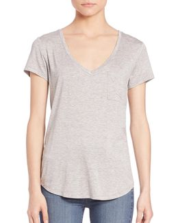 Lynnea V-neck T-shirt