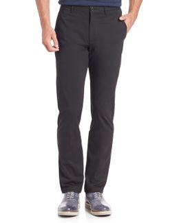 Zaine Witten Flat-front Pants