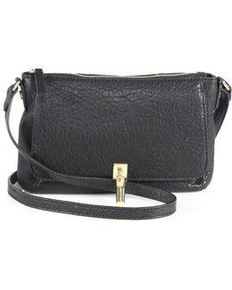 Cynnie Micro Pebbled Leather Crossbody Bag