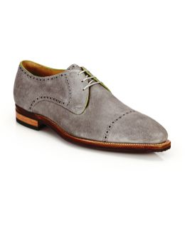 Ike Suede Lace-up Derby Oxfords