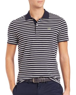Horizontal Stripe Polo