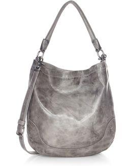 Melissa Leather Hobo Bag