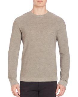 Cashmere-silk Blend Sweater