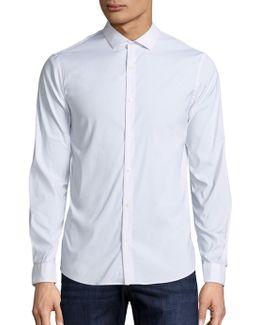 Slim-fit Stretch Button-down Shirt